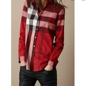 Burberry Brit Tonal Check Shirt